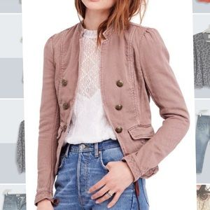 FREE PEOPLE Jagger Double Breasted Blazer